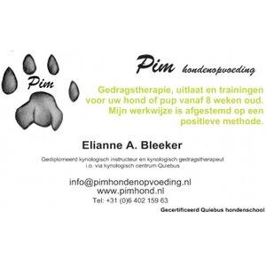 Pim Hondenopvoeding logo