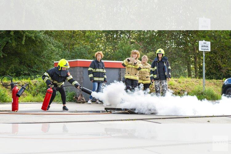Workshop kraamverzorgenden De Kraamvogel op brandweerkazerne van Hoorn