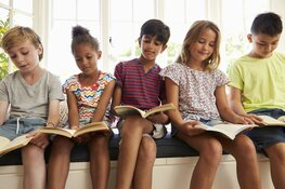 Samenvoorlezen voor basisschoolkinderen in Hoorn, Enkhuizen en Amsterdam