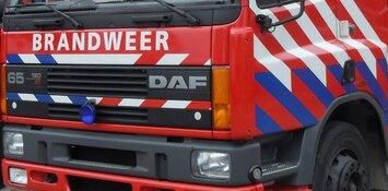 Brand in busje op Westfrisiaweg