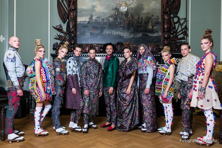 'The One' Fashion Event  Modeontwerper Maghsoudi's ode aan Hoorn