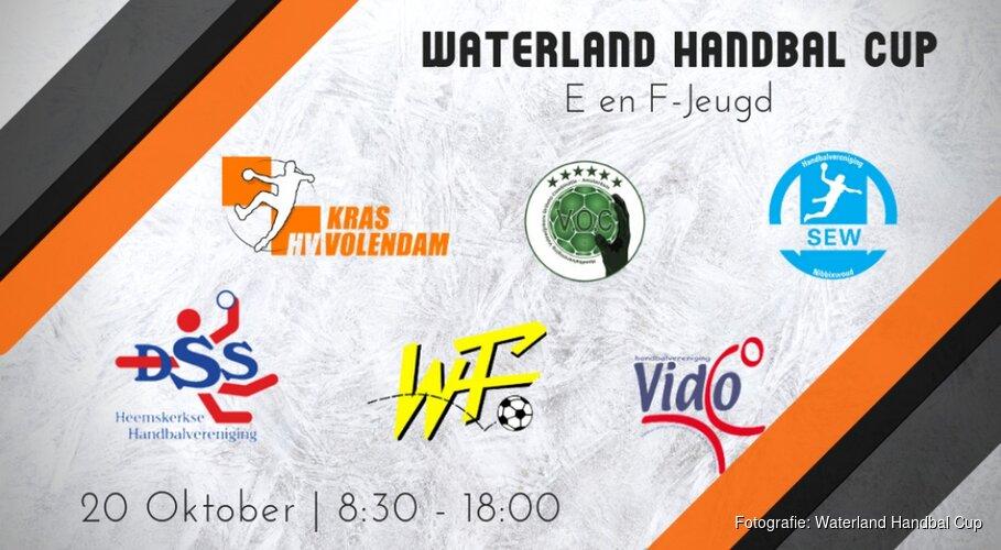 Waterland Handbal Cup: nieuw toernooi voor E- en F jeugd