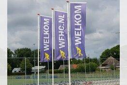 Heren en dames WFHC Hoorn werken aan doelsaldo