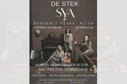 Zaterdagavond 26 januari een prachtig luisterconcert van SYA