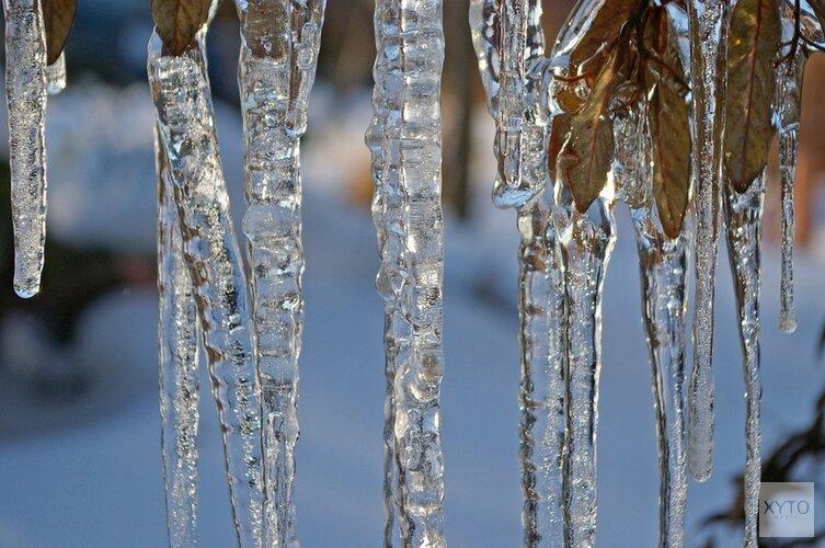 Winter zet door: na het weekend temperaturen tot ver onder vriespunt