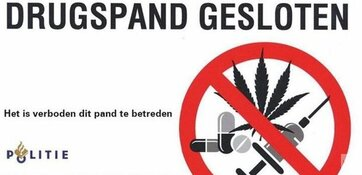 Drugswoning aan Vijzelmolen voor maand gesloten