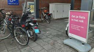 Fietsen verwijderd op station Hoorn