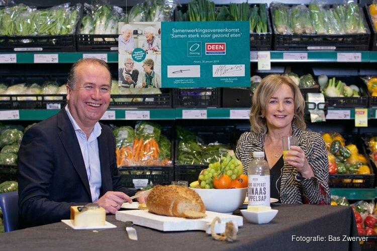 Omring en DEEN Supermarkten gaan samenwerking aan voor gezond eten