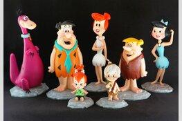 Familie-museum met Floris en Flintstones
