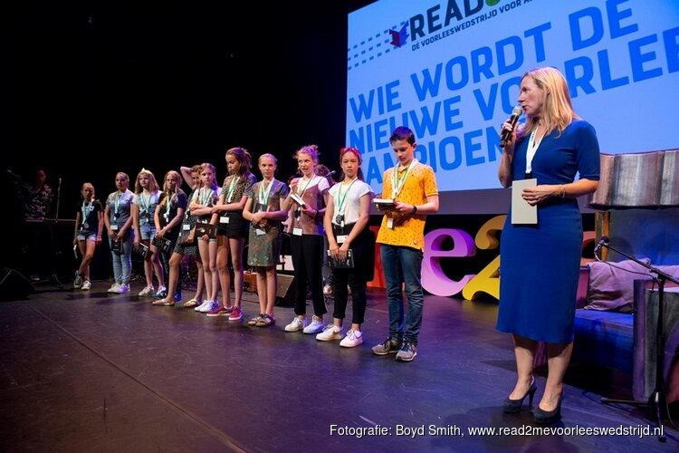 Welke stoere brugklasser wordt de beste voorlezer van Hoorn?