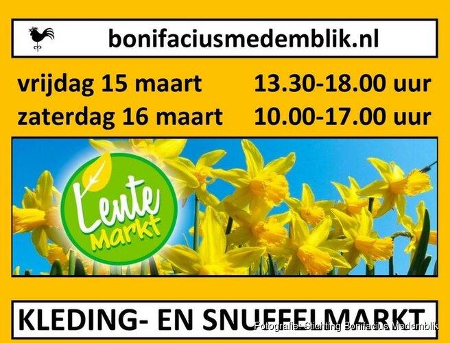 Stichting Bonifacius Medemblik organiseert lentemarkt