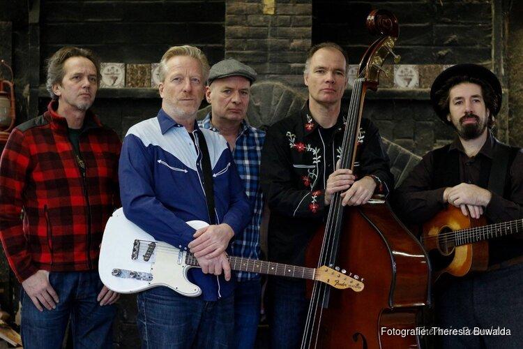 Optreden van The Honky Tonk Men op zondag 3 maart in Oosterleek