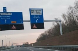 """Zwaag niet terug op borden langs Westfrisiaweg: """"Ronduit teleurstellend"""""""