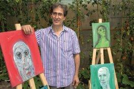 Expositie 'de Emotie' van kunstenaar Akram in Hoorn