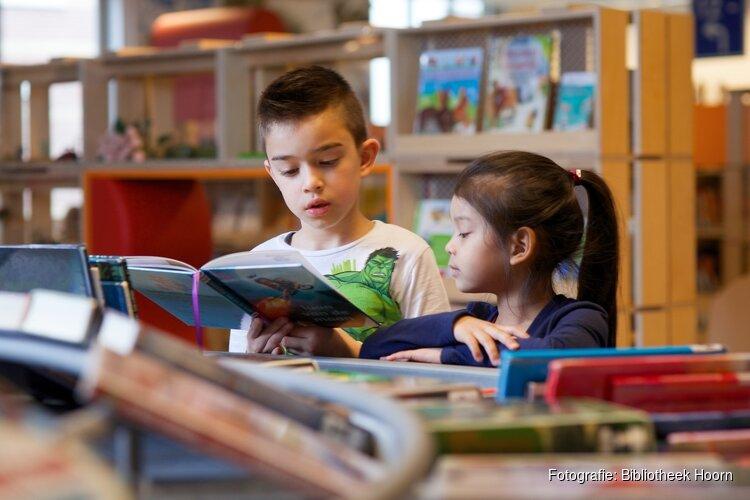 Hulp bij lezen in de Bibliotheek Hoorn