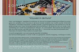 Tentoonstelling Vrouwen in de Kunst in De Boterhal