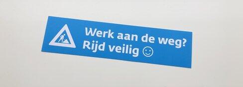 Noord-Holland in actie voor veiligheid wegwerkers