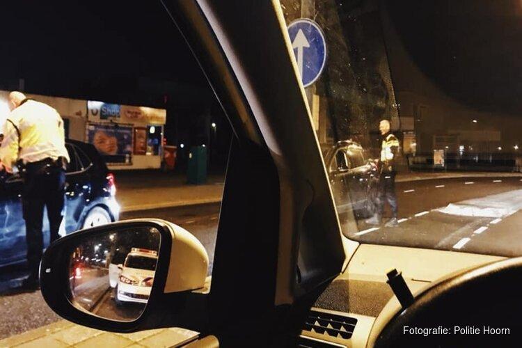 Beschonken automobilist scheurt weg na positieve blaastest in Hoorn