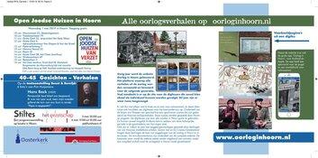 Zaterdag 4 mei: stille tocht dodenherdenking en herdenkingsconcert