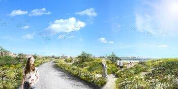 Veel belangstelling voor nieuwste schetsen stadsstrand Hoorn