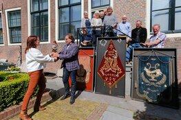 Vaandels Sappho overgedragen aan Westfries Museum