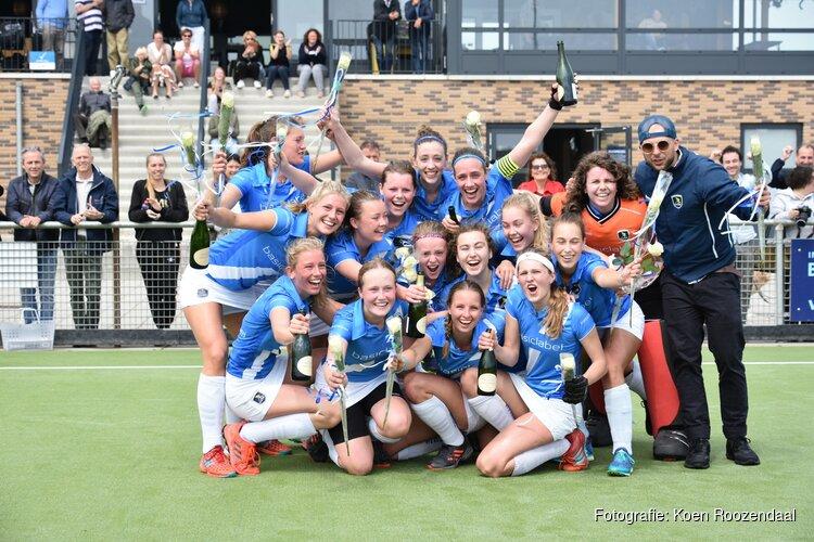 Grote vreugde bij kampioen WFHC Hoorn