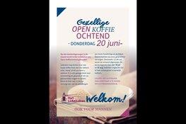 Bezoek Open Koffieochtend in Het Lichtbaken!