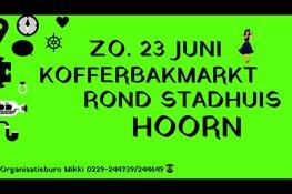 Zo. 23 Juni Kofferbakmarkt Stadhuis Hoorn
