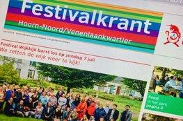 Programmakrant festival Wijkkijk 7 juli is uit!