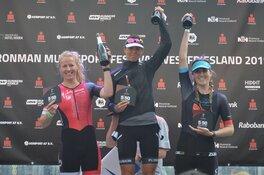 Profs heersen tijdens Ironman Hoorn; winst voor Tristan Olij en Tessa Kortekaas