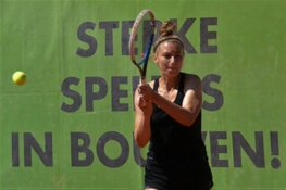 Uitwijkmogelijkheden blijken geen overbodige luxe voor Boekweit/Olie tennistoernooi