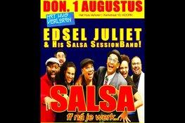 Live Salsa met Edsel Juliet & Salsa SessionBand