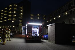 Brand in flatwoning Hoorn