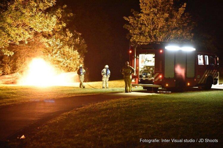 Opnieuw brandstichting in Julianapark
