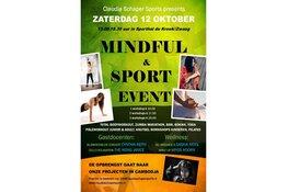 Zaterdag 12 oktober 2019 vanaf 13.00 uur Mindful & Sport event