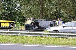 Auto gecrasht op A7