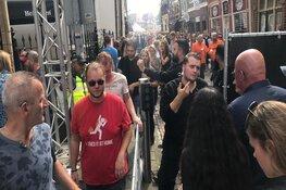 Lappendag is overvol: bezoekers worden via poortjes tegengehouden