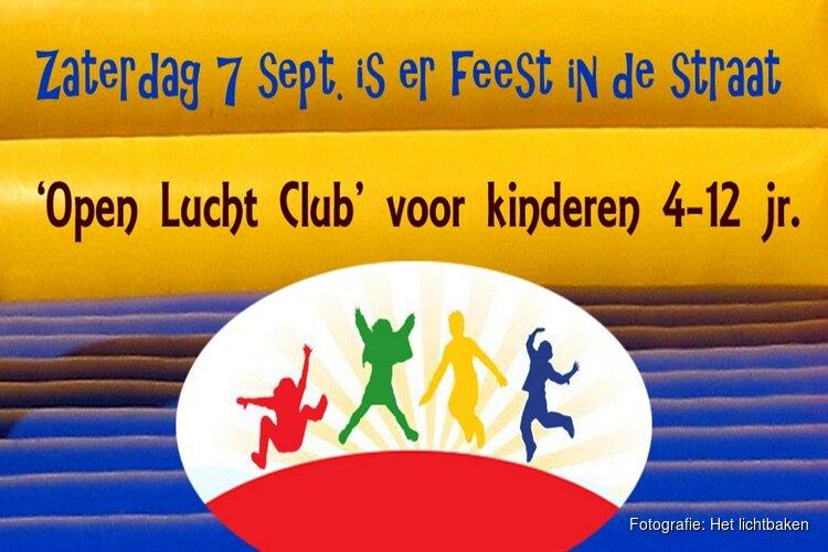 Feest in de straat: 'Open Lucht Club' voor kinderen