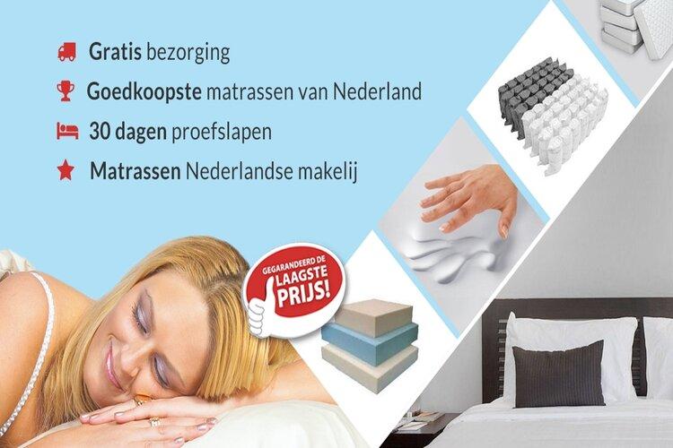 Goedkope matrassen kopen doet u bij Matrassenman.nl