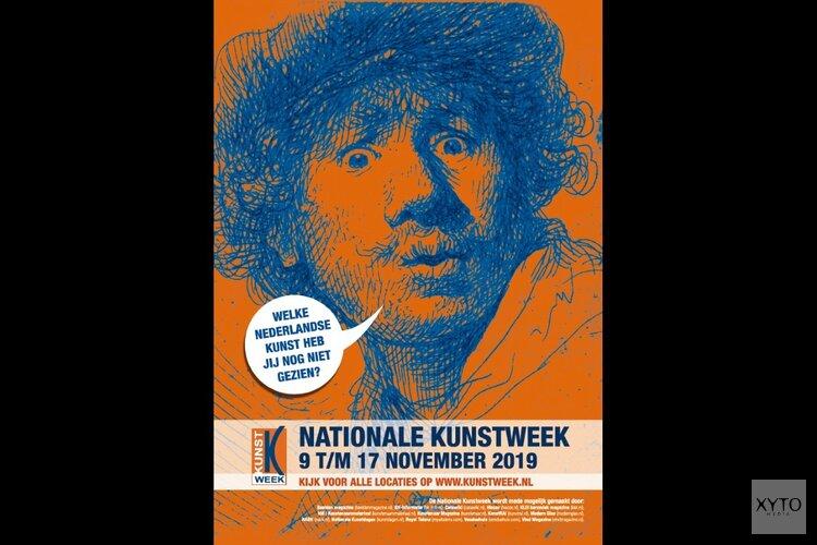 Honderden locaties te bezoeken tijdens de Nationale Kunstweek 2019