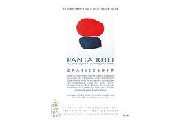 GRAFIEK 2019, Panta Rhei - Alles stroomt door in de Boterhal Hoorn