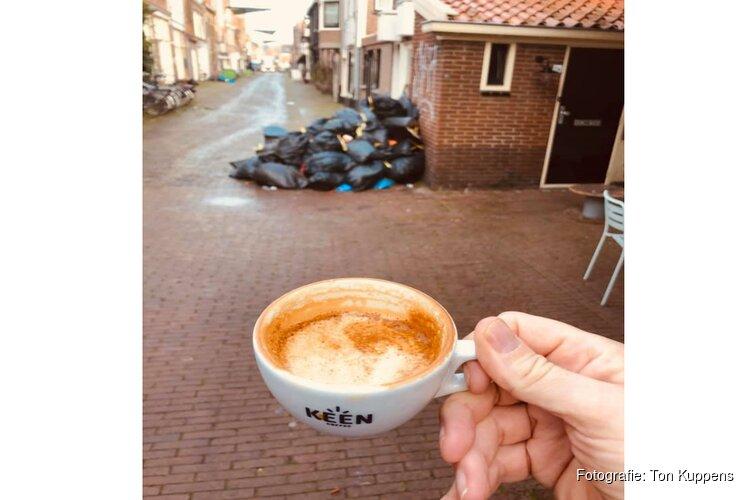 """Vuilnis dagenlang voor deur van koffiezaak: """"Dit is echt een treurige situatie"""""""
