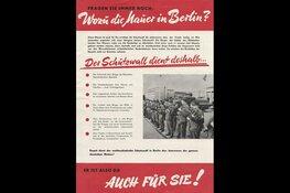 Val van de Berlijnse Muur in Museum van de 20e Eeuw