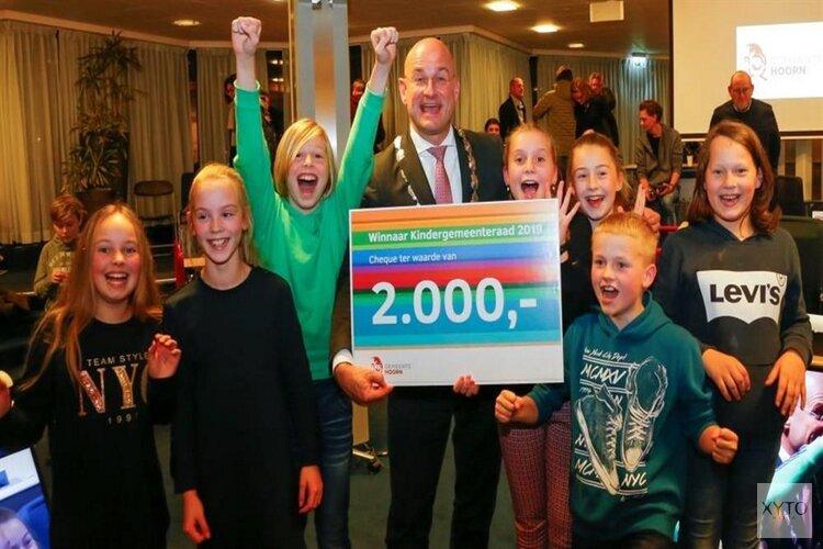 Bernardus van Bockxmeer School winnaar Kindergemeenteraad