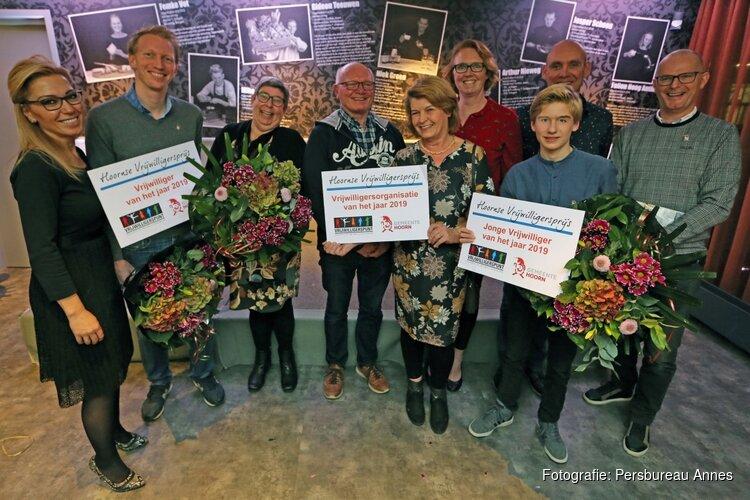 En de winnaars van de Hoornse Vrijwilligersprijs 2019 zijn…