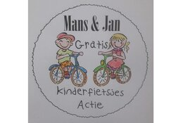 Mans & Jan geven de 500ste fiets gratis weg