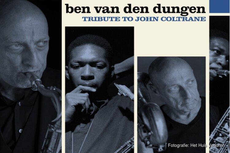 Het Ben van den Dungen Quartet brengt een hommage aan de legendarische saxofonist John Coltrane in het Huis Verloren.