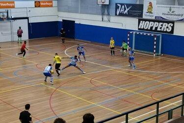 Sterk FC Eindhoven een maatje te groot voor HV Veerhuys