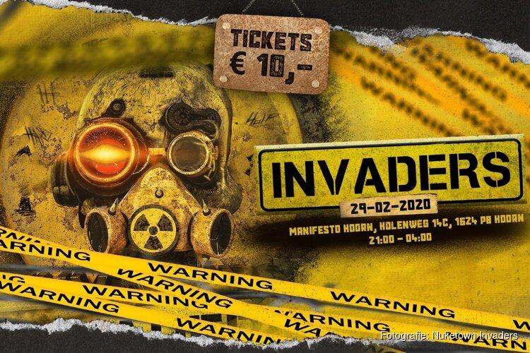 Invaders - Nuketown zaterdag 29 februari