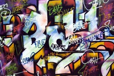 Graffiti, Vet Cool!